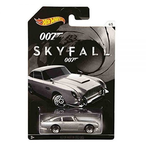 007 Skyfall Austin Martin Hot Wheels