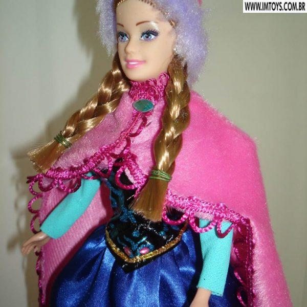 Boneca Anna na Neve (Frozen)