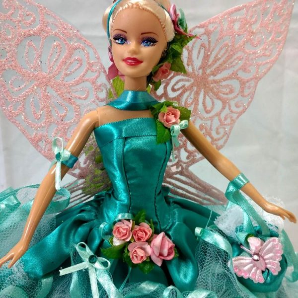 Boneca Barbie Fada Nereida Real