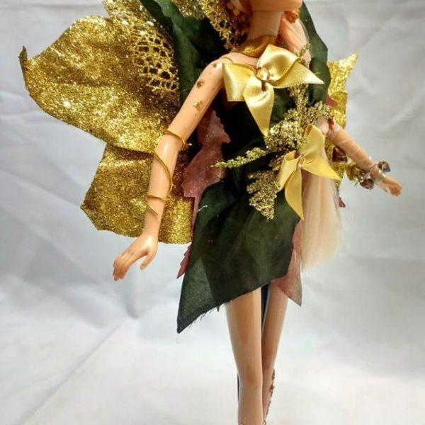 Boneca Fada Golden Flora