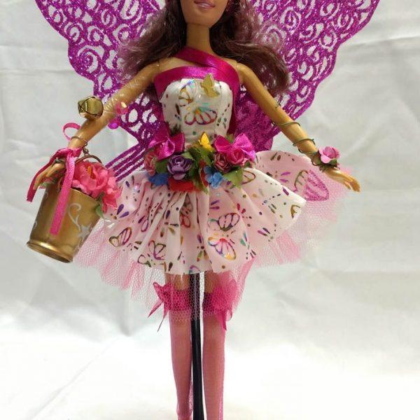 Boneca Fada Meias Pink