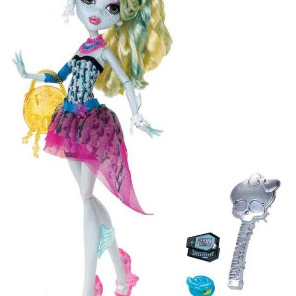 Boneca Monster High Laguna Blue DDG Assinada