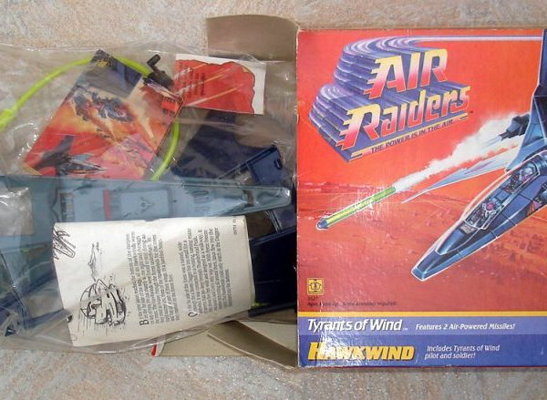 Air Raiders Hawkwind Hasbro