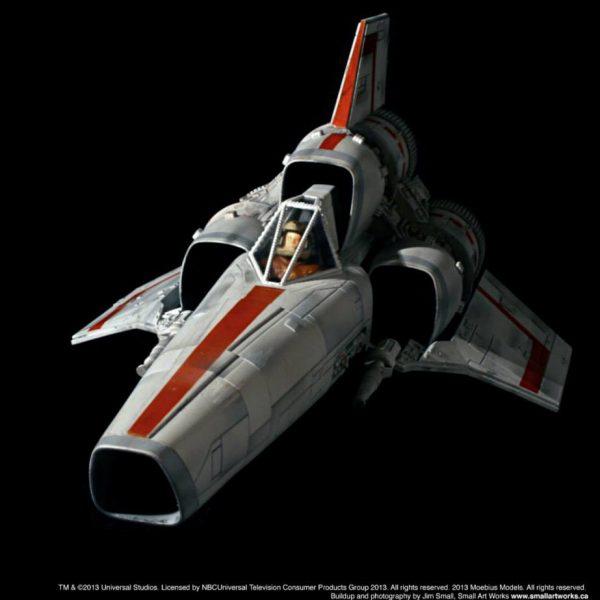 Battlestar Galactica Colonial Viper (Classic Version 1978) Model Kit Moebius