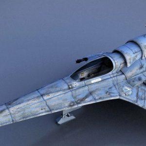 "Battlestar Galactica Colonial Viper MK-VII ""BUILT MODEL"" Moebius"