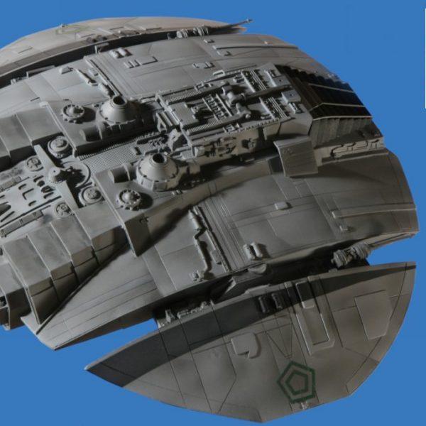 Battlestar Galactica Cylon Raider Classic(1978) Moebius