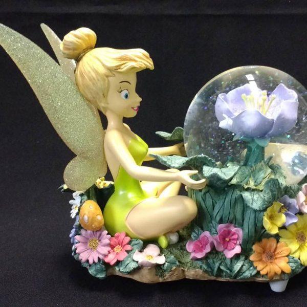 Disney Store Tinker Bell Snow Globe and Music Box