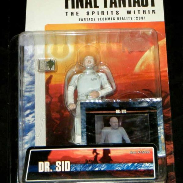 Final Fantasy -The Spirit Within Dr. Sid Action Figure Bandai