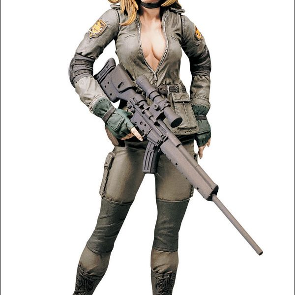 Sniper Wolf Metal Action Figure Gear Solid Mc Farlane Toys