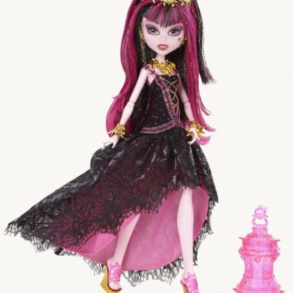 Boneca Monster High Draculaura 13 Wishes Assinada