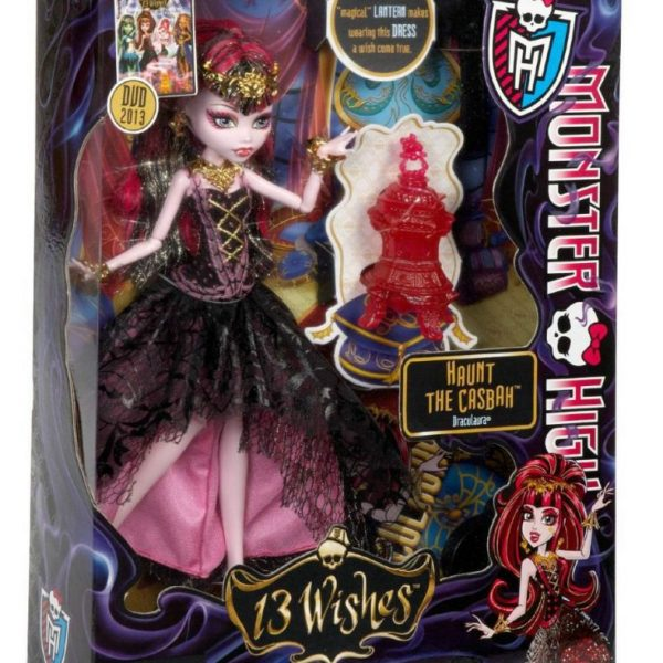Boneca Monster High Draculaura 13 Wishes Assinada