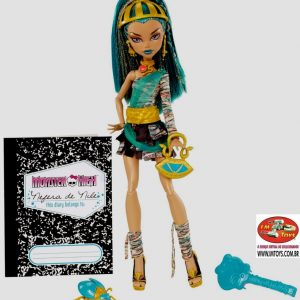 Boneca Monster High Nefera de Nile com Anél Raríssimo