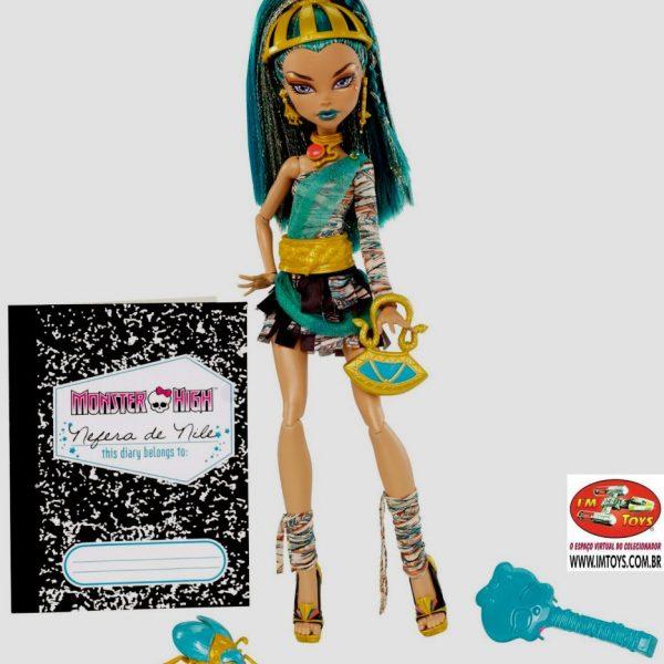 Boneca Monster High Nefera de Nile com Anél Raríssimo