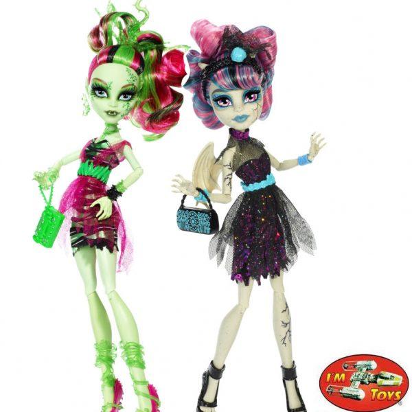 Boneca Monster High Zombie Shake Venus e Rochelle