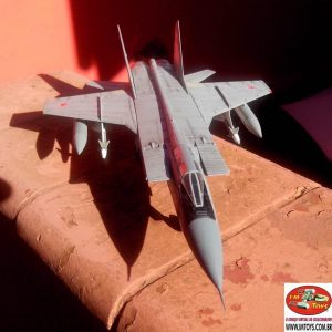 MIG-31 Foxhound Die Cast Model 1/72