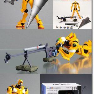 Evangelion EVA-00 Revoltech Action Figure Kayodo