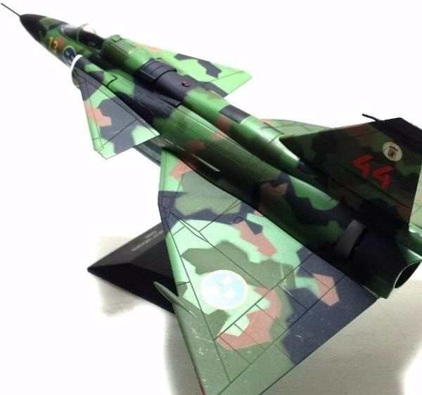 Saab J-37 Viggen Die Cast Model 1/72