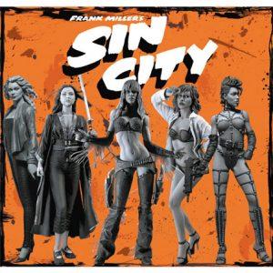 Frank Miller Sin City Sexy Girls Action Figure Set of 5 Neca