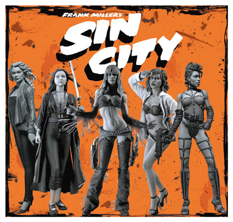 Frank Miller Sin City Sexy Girls Action Figure Set of 5 Neca