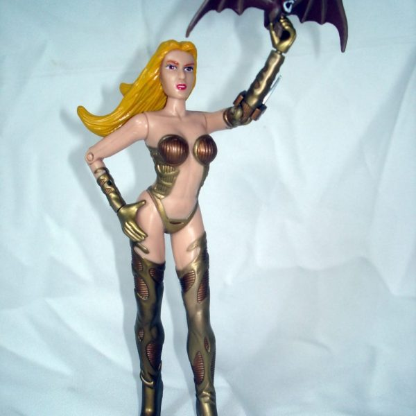 Vampire Witch Samantha Action Figure Rendition