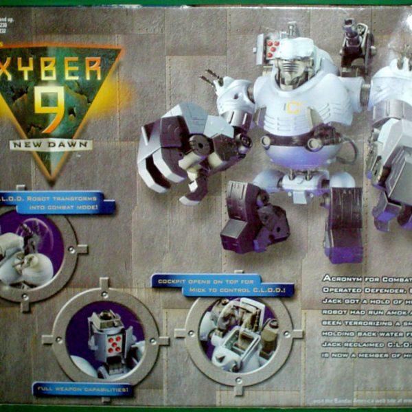 Xyber-9 CLOD BIG Bandai