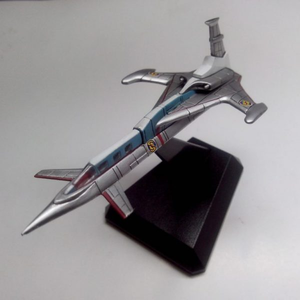 Captain Scarlet Spectrum Jet Transport Konami