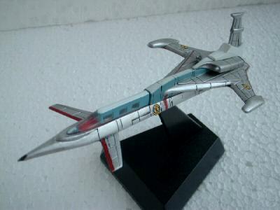Captain Scarlet Spectrum Jet Transport Konami