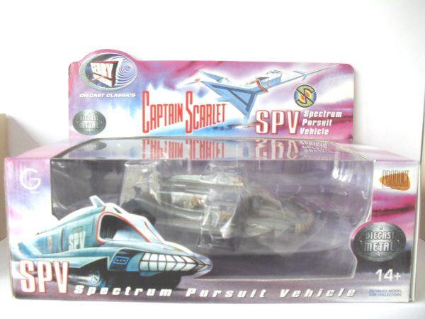 Captain Scarlet Spectrum SPV High Grade Die Cast