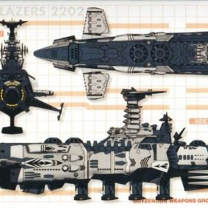 Yamato 2202 Comet Empire Battleship Set of 2 MC-SP Bandai