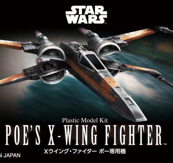 Star Wars Poe Dameron T-70 X-Wing Mini Kit BANDAI
