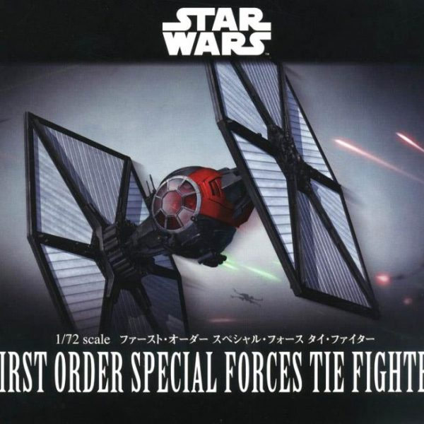 First Order Tie Fighter Special Forces 1/72 Model Kit BANDAI