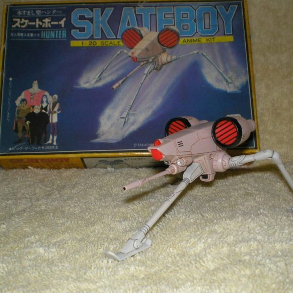 Crusher Joe 1/20 Skateboy Hunter Takara