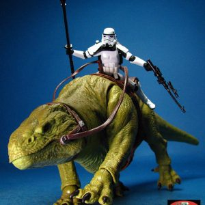 Star Wars Dewback Patrol and Sandtrooper Action Figure Hasbro