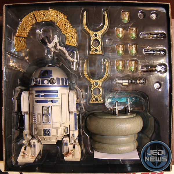 Star Wars R2-D2  Action Figure 1/6 High Deluxe Sideshow