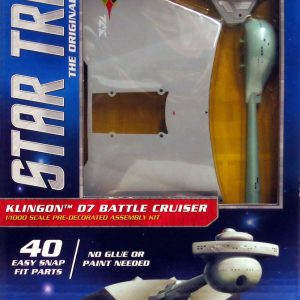 Star Trek klingon Cruiser Classic Snap Kit Polar Lights