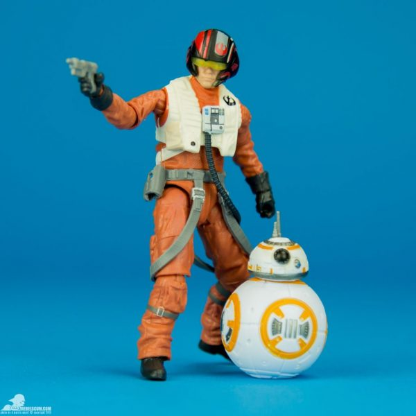 Star Wars Action Figure Poe Dameron Black Series Hasbro