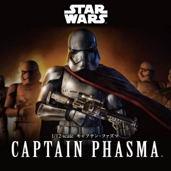 Captain Phasma 1/12 Model Kit BANDAI
