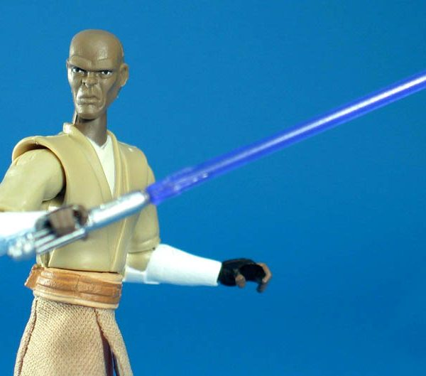 Star Wars Action Figure Mace Windu CW Hasbro