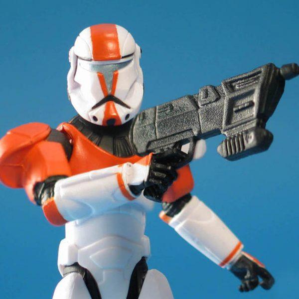 Star Wars Action Figure Republic Commando Clone Trooper Hasbro