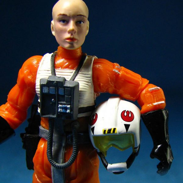 Star Wars Action Figure X-Wing Pilot Plourr Ilo Hasbro