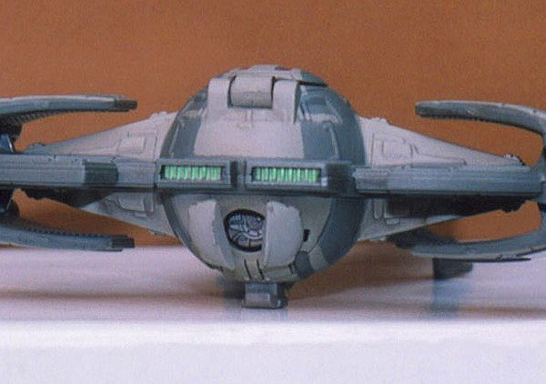 Star Wars Sith Infiltrator Action Fleet Galoob
