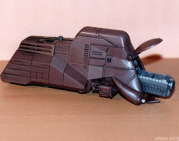 Star Wars Trade Federation MTT Action Fleet Galoob