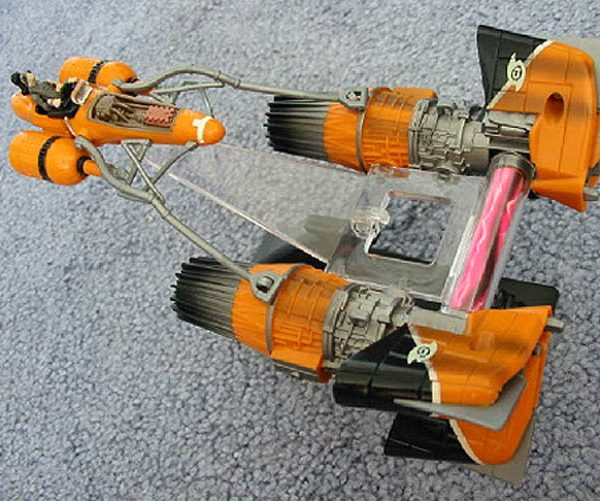 Star Wars Sebulba's Pod Racer Action Fleet Galoob