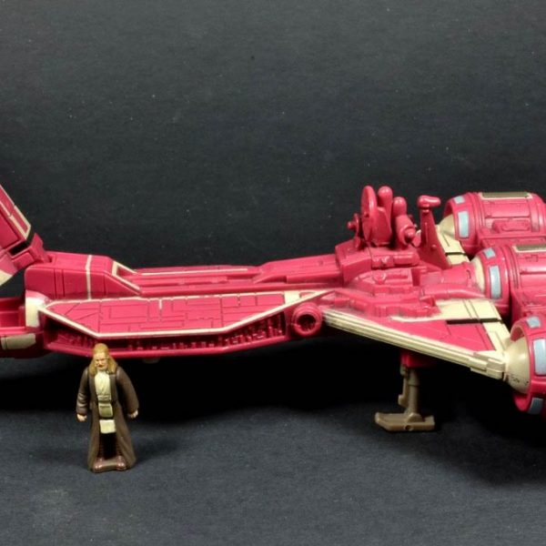 Star Wars Republic Cruiser Action Fleet Galoob