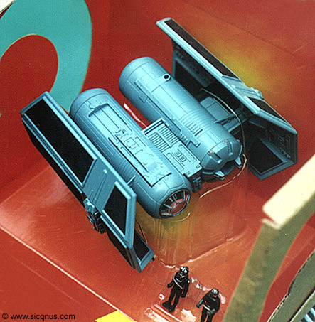 Star Wars Tie Bomber Action Fleet Galoob