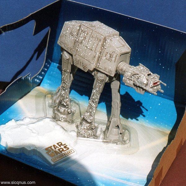 Star Wars AT-AT Action Fleet Galoob