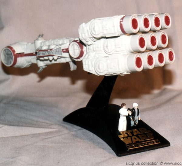 Star Wars Rebel Blockade Runner Action Fleet Galoob