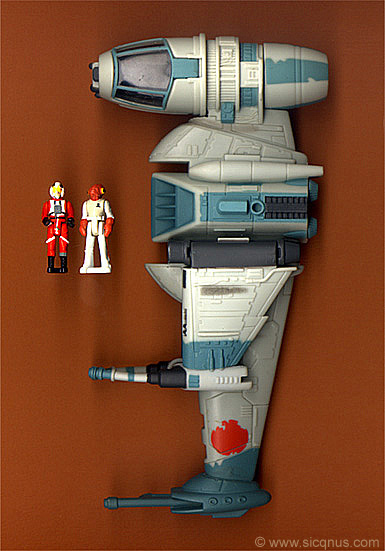 Star Wars B-Wing Fighter Action Fleet Galoob