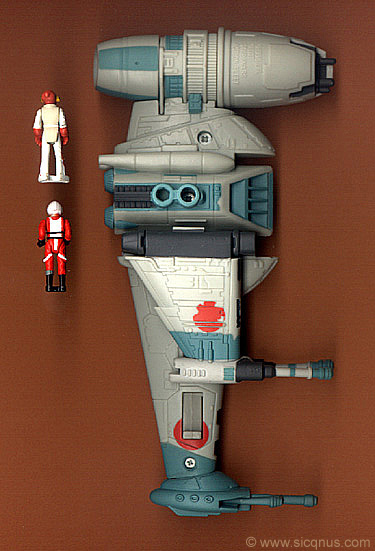 B-Wing Fighter Action Fleet Galoob