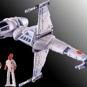 Star Wars B-Wing Fighter Action Fleet Galoob